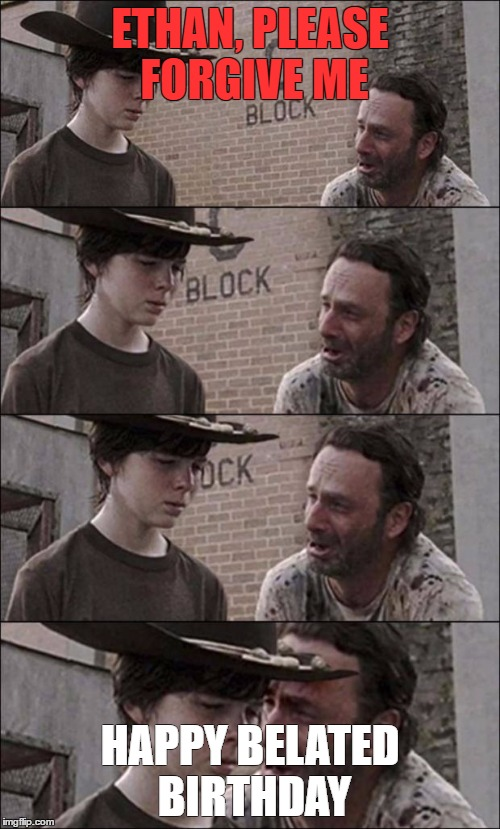 Rick and carl coral meme