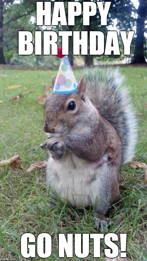 super birthday squirrel memes