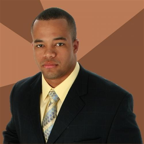 High Quality Successful Black Man Blank Meme Template