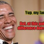 Obama laughing meme generator