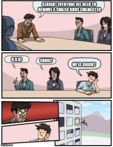 Image tagged in memes,boardroom meeting suggestion,smash bros generated with the Imgflip meme maker