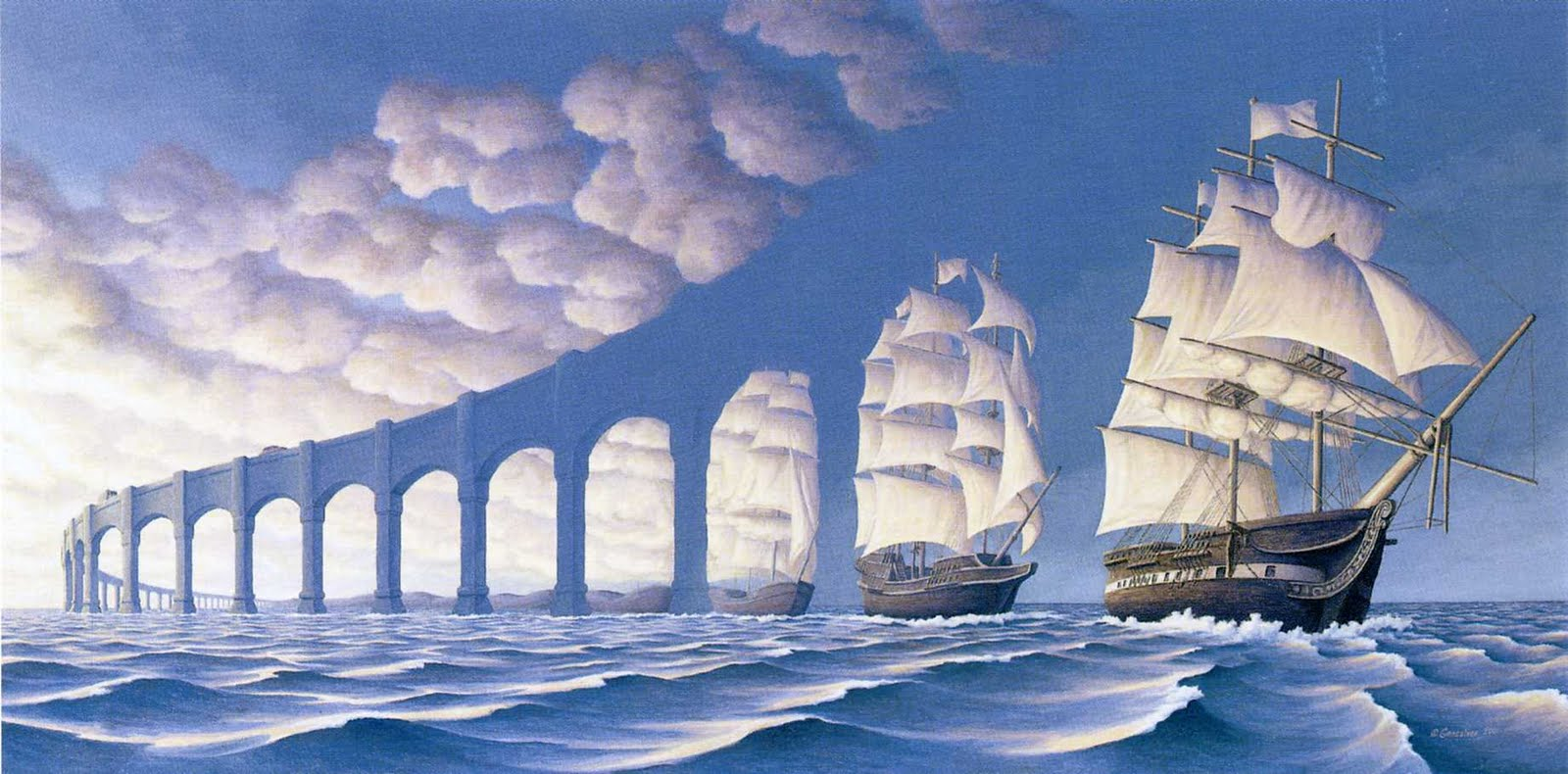 TheSunSetsSail by RobGonsalves