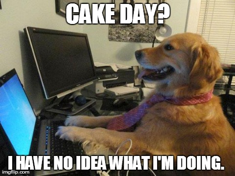 Started a new job and found out its my cake day.