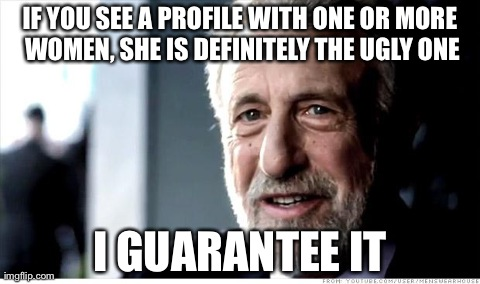 New to dating sites, this sums it up...