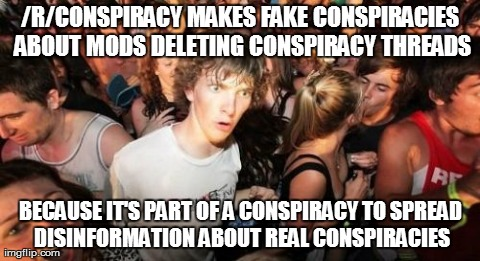 It's conspiracy-ception