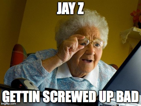 Grandma finds Jay Z elevator tape