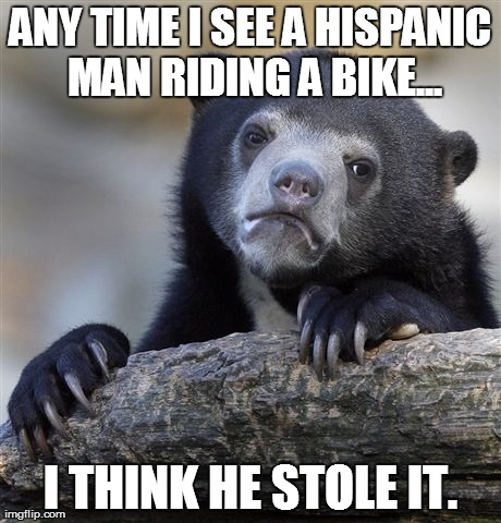 I stopped three guys stealing my wife's bike.