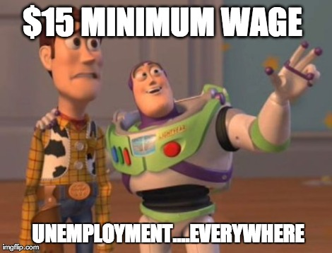 Seattle's new $15 minimum wage...