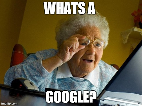 While switching my grandma from Internet Explorer to Google Chrome: