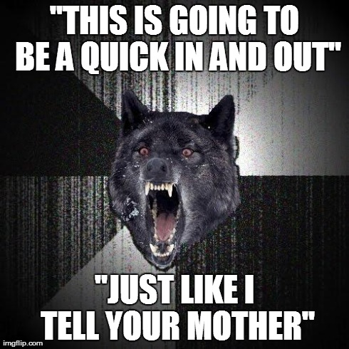 At a library today, overheard a father say this to his son