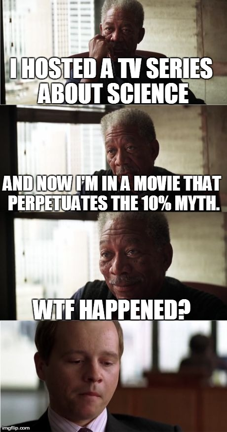Morgan Freeman Good Luck