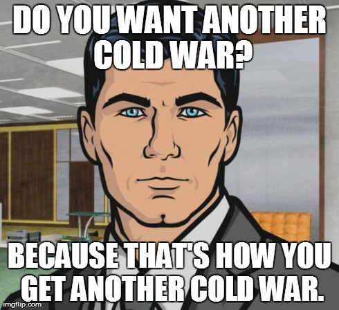In response to Germany saying they're going to spy on US and UK intelligence gathering