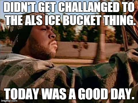 ALS Ice Bucket Challange
