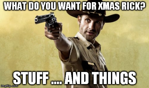 Rick grimes stuff and things meme