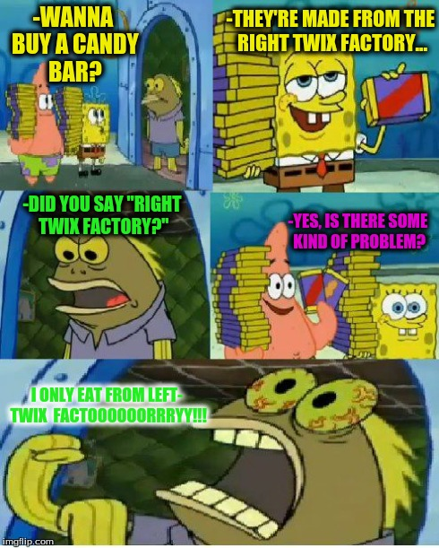 Spongebob Chocolate Bar Meme