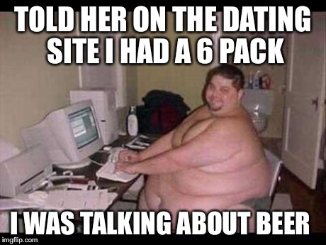 Funny meme about online dating