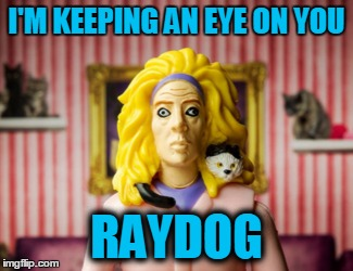 I'M KEEPING AN EYE ON YOU RAYDOG | made w/ Imgflip meme maker