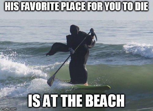 103fz3 surfing grim reaper meme generator imgflip