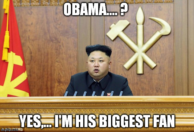 OBAMA.... ? YES,... I'M HIS BIGGEST FAN | made w/ Imgflip meme maker