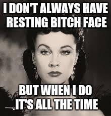 104oal scarlet o'hara bitchy face red dress imgflip