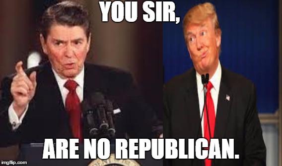 Image Tagged In Ronald Reagandonald Trump Imgflip