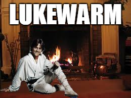 LUKEWARM | made w/ Imgflip meme maker