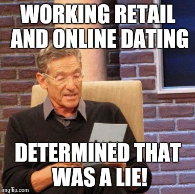 Dating someone who works in retail