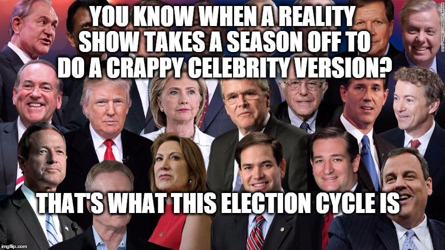 The celebrity factor in presidential bids is growing in ...
