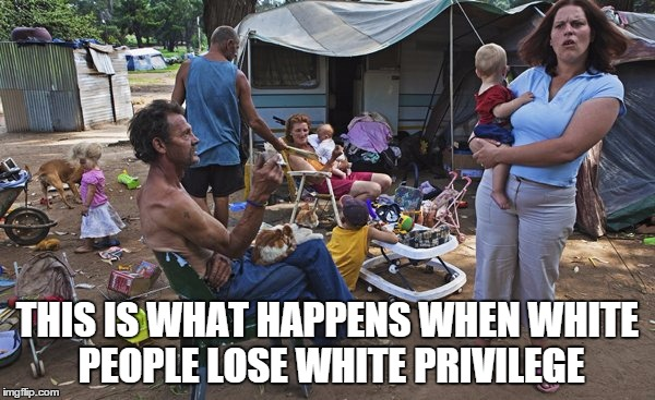 White People Without Privilege