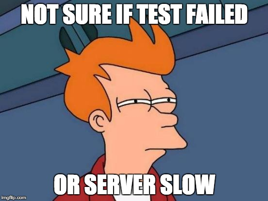 Fry Tests a Server Connection