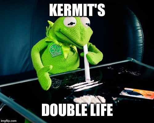 KERMIT'S DOUBLE LIFE | made w/ Imgflip meme maker