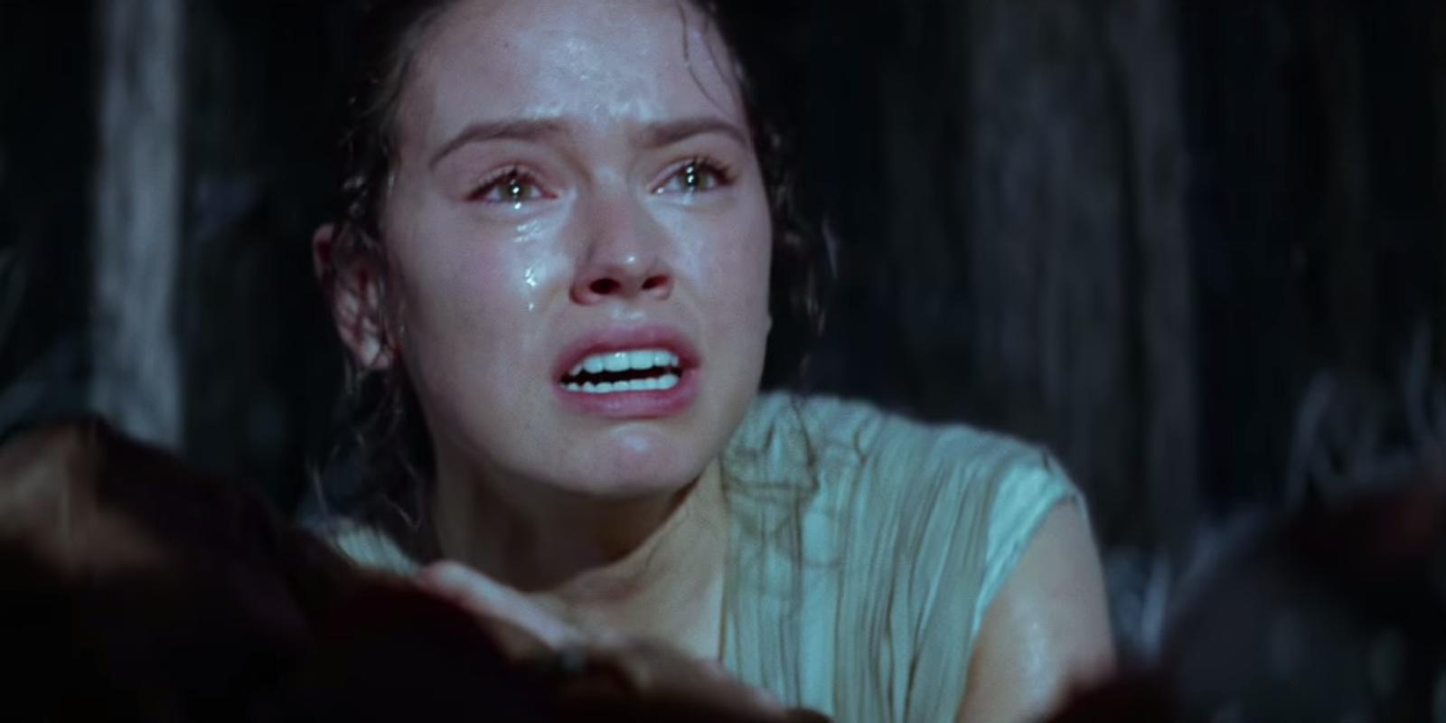 Star Wars Rey Crying Blank Template Imgflip