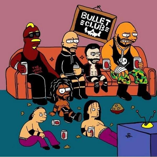 bullet club blank template imgflip