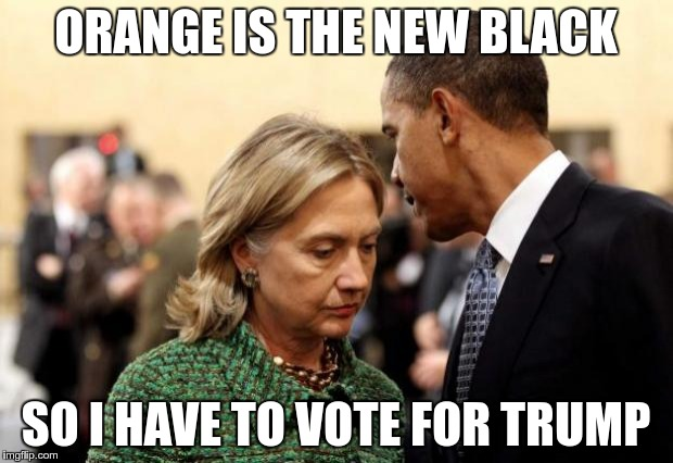 Obama And Hillary Imgflip