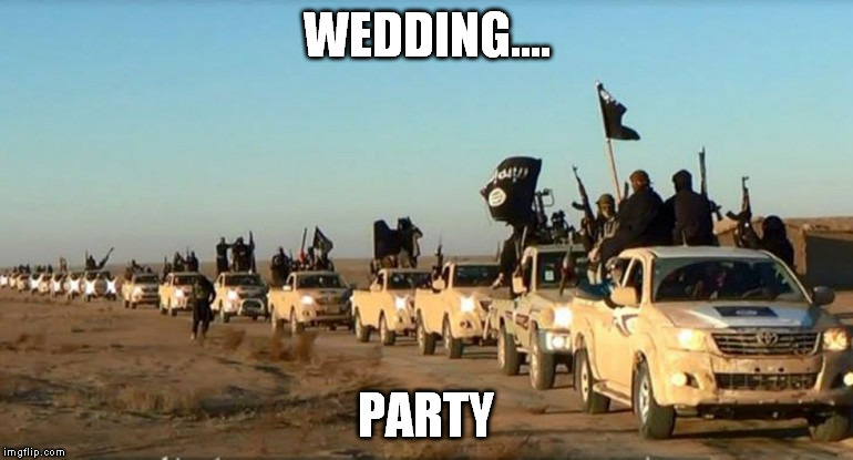 WEDDING.... PARTY | made w/ Imgflip meme maker