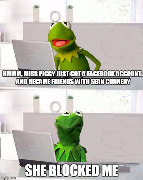 10gb8q hide the pain kermit imgflip
