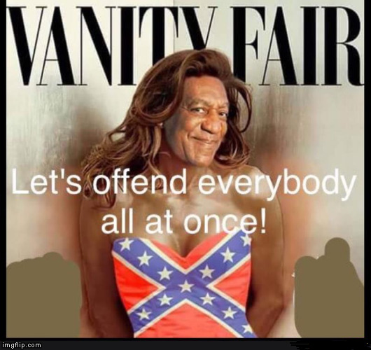 Caitlyn jenner lost the cover spot  | image tagged in bill cosby | made w/ Imgflip meme maker