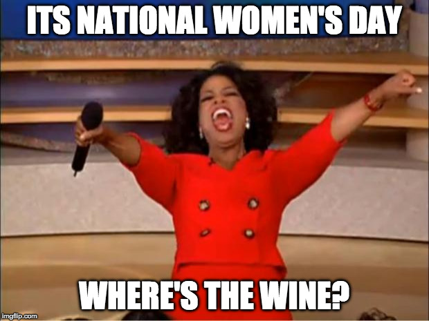 Women S Day Funny Meme : Oprah you get a meme imgflip