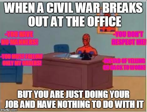 10lbt2 spiderman computer desk memes imgflip