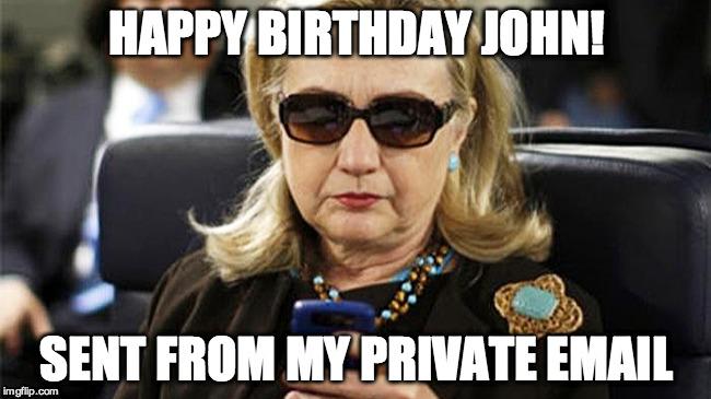 10mpt5 hillary texting imgflip,Hillary Birthday Meme