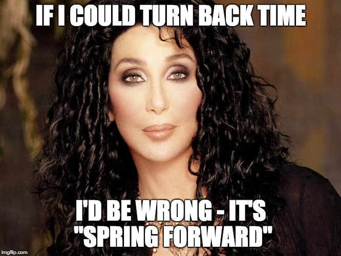 Spring Forward - Imgflip