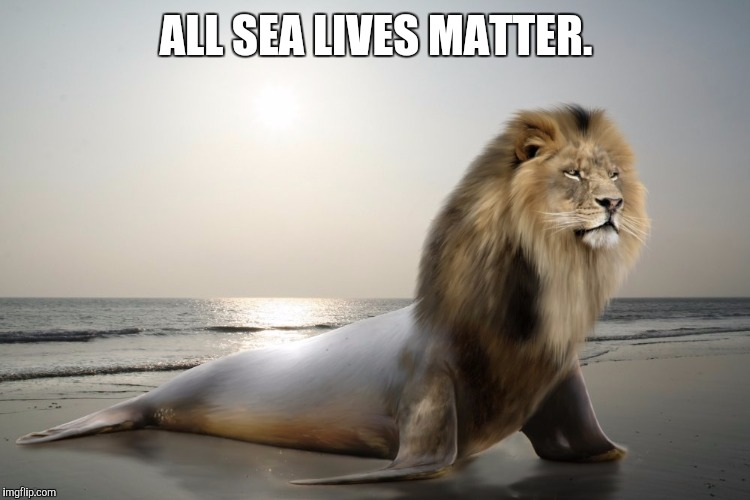ALL SEA LIVES MATTER. | made w/ Imgflip meme maker