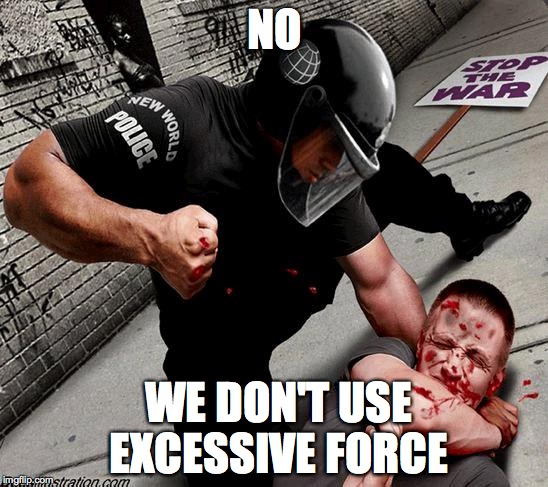 Resisting Arrest When Police Use Excessive Force