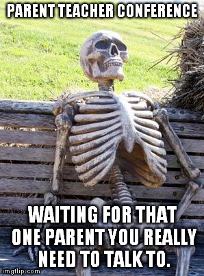 "That ""1"" elusive parent you need to see the most, but can't reach and never see. 