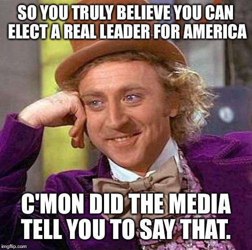 do you believe the media or