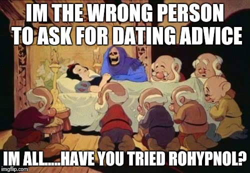 Funniest Meme Cartoons : Image tagged in rohypnol skeletor dating funny memes imgflip