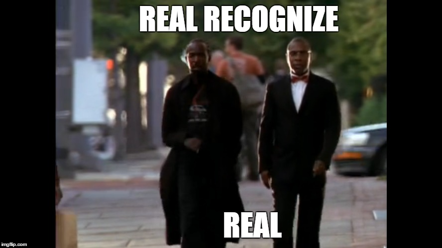 "Omar & Brother Mouzone ""The Wire"" 