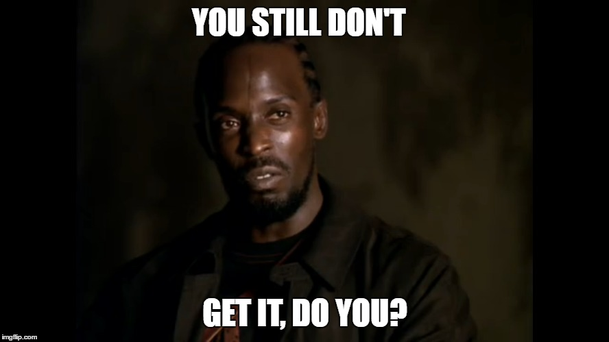 "Omar Schools Stringer Bell One Last Time ""The Wire"" 