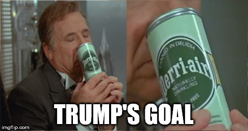 perri-air | TRUMP'S GOAL | image tagged in spaceballs | made w/ Imgflip meme maker