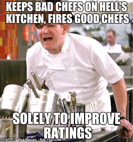 Jackie Is The Worst Chef In History And They Keep Her Yet Fire The Best Chef Imgflip